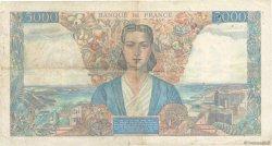 5000 Francs EMPIRE FRANçAIS FRANCE  1945 F.47.25 TB