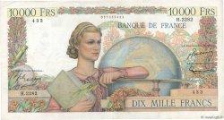 10000 Francs GÉNIE FRANÇAIS FRANCE  1952 F.50.56 TB