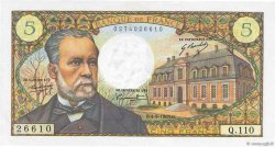 5 Francs PASTEUR FRANCE  1969 F.61.11 pr.SPL