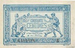 50 Centimes TRÉSORERIE AUX ARMÉES FRANCE  1919 VF.02.02 pr.NEUF