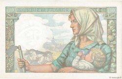 10 Francs MINEUR FRANCE  1941 F.08.02 pr.SPL