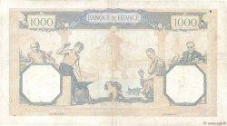 1000 Francs CÉRÈS ET MERCURE type modifié FRANCE  1940 F.38.46 TTB