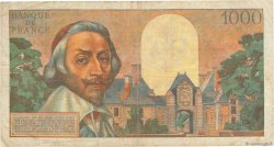 1000 Francs RICHELIEU FRANCE  1955 F.42.17 pr.TB