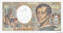 200 Francs MONTESQUIEU FRANCE  1992 F.70.12b pr.SUP