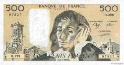 500 Francs PASCAL FRANCE  1989 F.71.41 pr.SUP