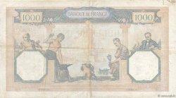 1000 Francs CÉRÈS ET MERCURE type modifié FRANCE  1939 F.38.33 TB