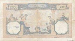 1000 Francs CÉRÈS ET MERCURE type modifié FRANCE  1939 F.38.35 TB+