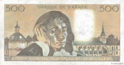 500 Francs PASCAL FRANCE  1987 F.71.35 TTB