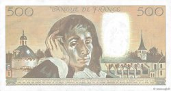 500 Francs PASCAL FRANCE  1988 F.71.39 pr.SUP