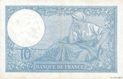 10 Francs MINERVE modifié FRANCE  1939 F.07.12 SUP+