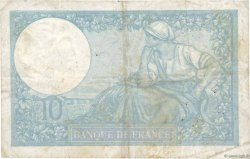 10 Francs MINERVE modifié FRANCE  1939 F.07.14 TB