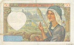 50 Francs JACQUES CŒUR FRANCE  1941 F.19.07 pr.TTB