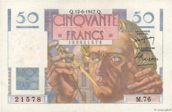 50 Francs LE VERRIER FRANCE  1947 F.20.08 SUP+