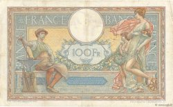 100 Francs LUC OLIVIER MERSON grands cartouches FRANCE  1926 F.24.05 TB+