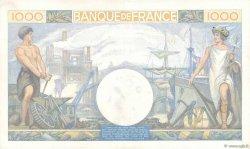 1000 Francs COMMERCE ET INDUSTRIE FRANCE  1940 F.39.02 SUP+