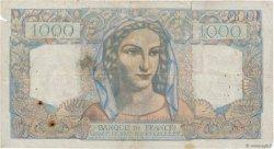 1000 Francs MINERVE ET HERCULE FRANCE  1946 F.41.12 TB