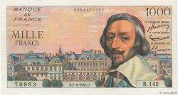 1000 Francs RICHELIEU FRANCE  1955 F.42.12 SUP
