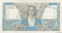 5000 Francs EMPIRE FRANÇAIS FRANCE  1945 F.47.28 pr.TTB