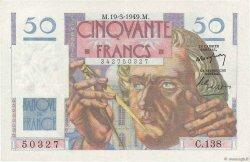 50 Francs LE VERRIER FRANCE  1949 F.20.12 TTB+