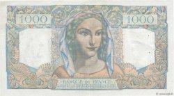 1000 Francs MINERVE ET HERCULE FRANCE  1949 F.41.27 pr.SUP