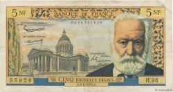 5 Nouveaux Francs VICTOR HUGO FRANCE  1963 F.56.13 TB