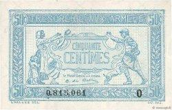 50 Centimes TRÉSORERIE AUX ARMÉES FRANCE  1917 VF.01.15 SPL