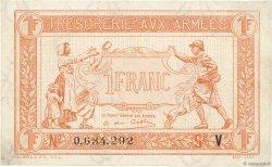 1 Franc TRÉSORERIE AUX ARMÉES FRANCE  1919 VF.04.09 SPL+