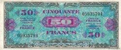 50 Francs DRAPEAU FRANCE  1944 VF.19.01 TTB