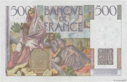 500 Francs CHATEAUBRIAND FRANCE  1952 F.34.10 SUP+