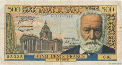 500 Francs VICTOR HUGO FRANCE  1955 F.35.04 pr.TB