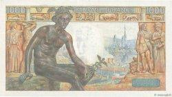 1000 Francs DÉESSE DÉMÉTER FRANCE  1943 F.40.27 TTB+