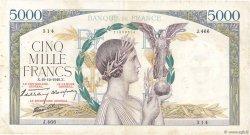 5000 Francs VICTOIRE Impression à plat FRANCE  1940 F.46.17 pr.TB