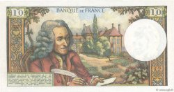 10 Francs VOLTAIRE FRANCE  1972 F.62.59 SUP+