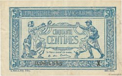 50 Centimes TRÉSORERIE AUX ARMÉES FRANCE  1919 VF.02.07 TTB