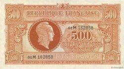 500 Francs MARIANNE FRANCE  1945 VF.11.02 SUP