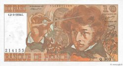 10 Francs BERLIOZ FRANCE  1978 F.63.23 SUP+