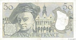 50 Francs QUENTIN DE LA TOUR FRANCE  1985 F.67.11 TTB