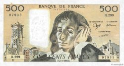 500 Francs PASCAL FRANCE  1989 F.71.41 SUP