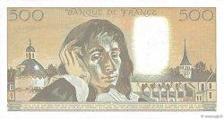 500 Francs PASCAL FRANCE  1991 F.71.47 pr.SPL
