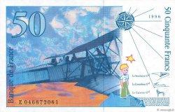50 Francs SAINT-EXUPÉRY Modifié FRANCE  1996 F.73.03 NEUF