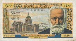 5 Nouveaux Francs VICTOR HUGO FRANCE  1961 F.56.06 pr.TTB