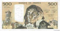 500 Francs PASCAL FRANCE  1980 F.71.22 TTB+