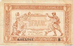 1 Franc TRÉSORERIE AUX ARMÉES FRANCE  1917 VF.03.08 pr.SUP