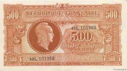 500 Francs MARIANNE FRANCE  1945 VF.11.01 pr.SUP