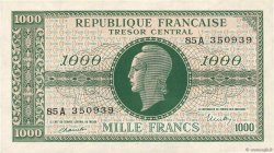 1000 Francs MARIANNE FRANCE  1945 VF.12.01 SUP+