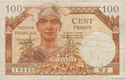 100 Francs TRÉSOR FRANÇAIS FRANCE  1947 VF.32.01 TB