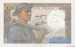 10 Francs MINEUR FRANCE  1947 F.08.17 pr.SPL