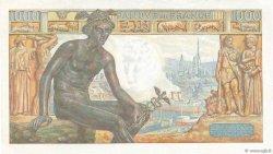 1000 Francs DÉESSE DÉMÉTER FRANCE  1943 F.40.19 TTB+