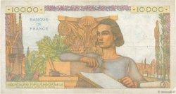 10000 Francs GÉNIE FRANÇAIS FRANCE  1956 F.50.78 TB