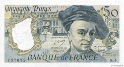 50 Francs QUENTIN DE LA TOUR FRANCE  1977 F.67.02 pr.SPL